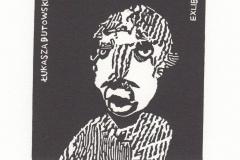 Lukasz Cywicki- Exlibris Tukasza Butowskiego, 2018, 10/9 cm, X3