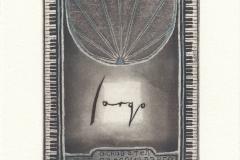 Peter Ford, Exlibris Jordan Petkov, C3, C5, 14.8x9.8 cm, 2021