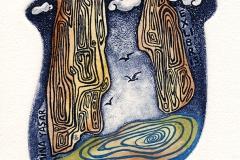 """Esra Kizir Gokcen, Exlibris Mina Yasar """"Crossover"""", 2014, C3, C4, C5"""