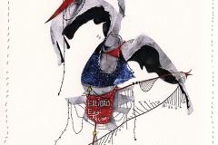 Alperen Guldu,  Exlibris Ezgi Akcam, 2014, CGD