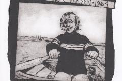 "Torill Elisabeth Larsen, ""Freedom"", 2016, 13.9/ 15 cm, mixed  technique"