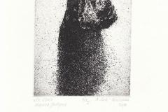 Agnieszka Lech- Binczycka, Exlibris Marcina Jachyma, 12/9.6 cm, C3, 2018