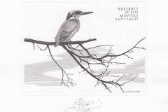 Lembit Lohmus, Exlibris Julio Montes Santiago,11.3/7.9 cm, C3, 2020