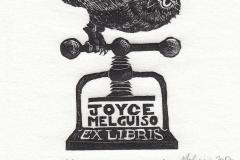 Joyce Melguiso Toth- Exlibris Joyce Melguiso
