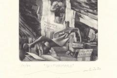 Ivo Mosele, Exlibris Accademia Belle Art Carrara 1769 - 2019 ''In-Formare'', 10/10, C7, 2020