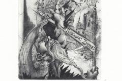 "Maryana Myroshnychenko, ""Don Quixote"", 2016, 12/ 10 cm, C3, C5"