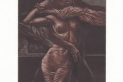 Hristo Naidenov, Exlibris Klaus Renner, C7, 14.7x10.7 cm, 2021