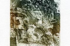 """Sergei Parfinov, Exlibris G. Blum """"Dream about unicorn"""", 2012, C5, C6"""