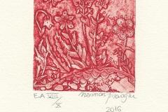 """Neriman Pilavoglu, """"Flowers"""", 2016, 11/ 8.2 cm, C3, C4, C5"""