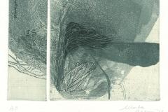 """Marta Pilloni, Exlibris Luigi Squalermo """"No title"""", 17/14 cm, C3, C5, C6, 2018"""