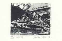 """Melihat Tuzun, """"Summit"""", 2014, 8/ 9.9 cm, C3, C5, C6"""