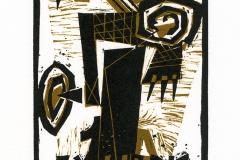 Zarko Vuckovic,  Exlibris Veljko Vukovic, 2014, X3