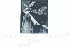 Kalina Yordanova, Exlibris Kalina Yordanova ''The healer'', C3, C5, 9.8x8.3 cm, 2021