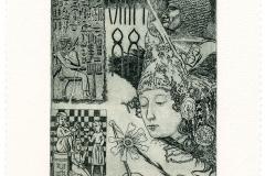 Luigi Casalino, Exlibris Hesi - Re, 2014, C3