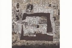 Eugeniusz Delekta, Exlibris Mieczyslawa Bielenia, 2015, 10/ 9.7 cm, CGD