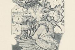 "Gunter Hujber, ""Leda with Swans"", 2015, 14.3/ 11 cm, C2, C4"