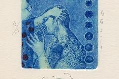 "Denitsa Ivanova-Aleksandrova, Exlibris Evgeni Aleksandrov ""Amore"", 2014, C3, C5"