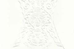 "Maya Tcholakova, Exlibris Svetla Hristova ""Mask II Butterfly"", 13/10 cm, 2016, C"